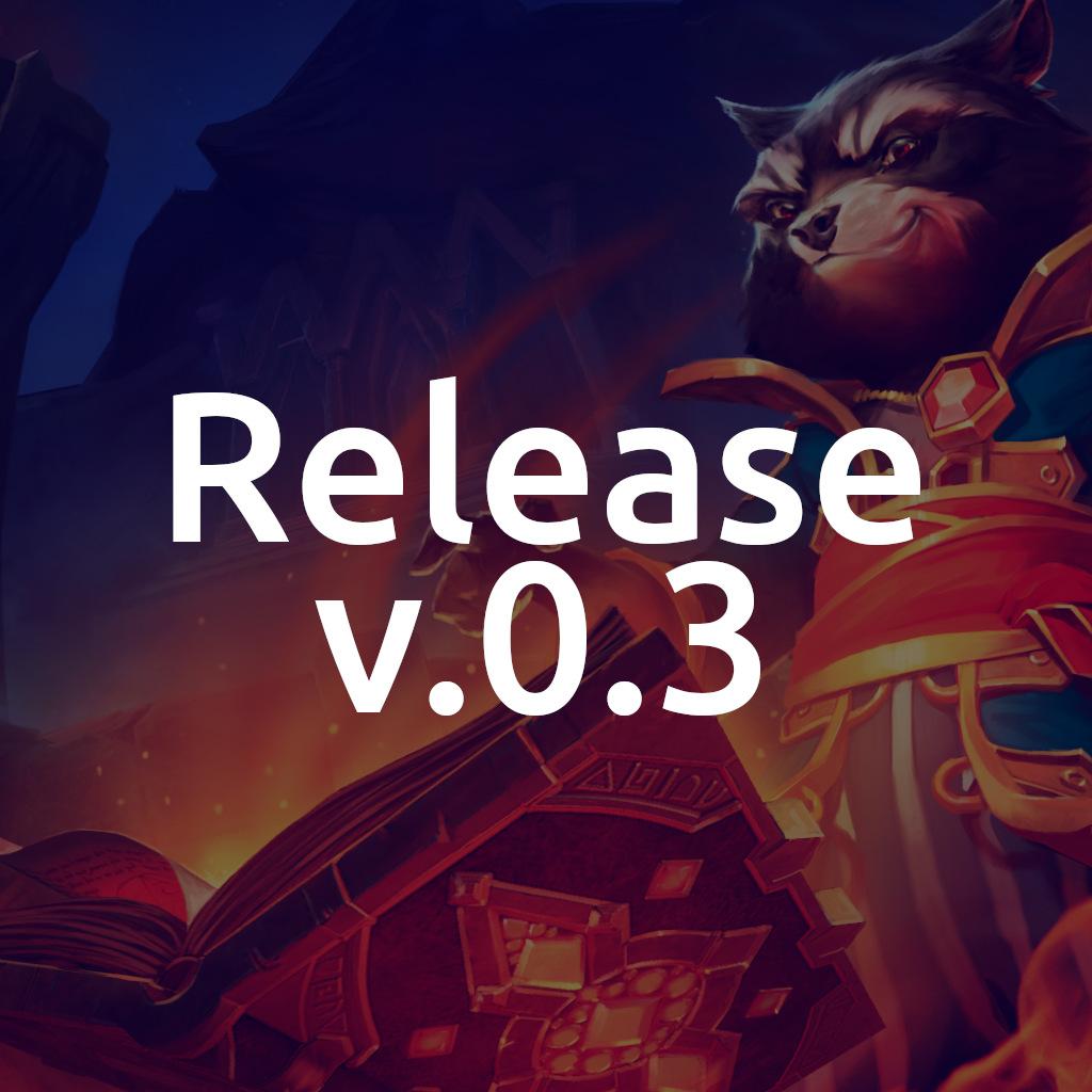 Release v.0.3